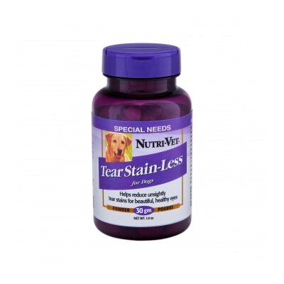 Nutri Vet Nutritionals Tear Stain Less Powder for Dogs
