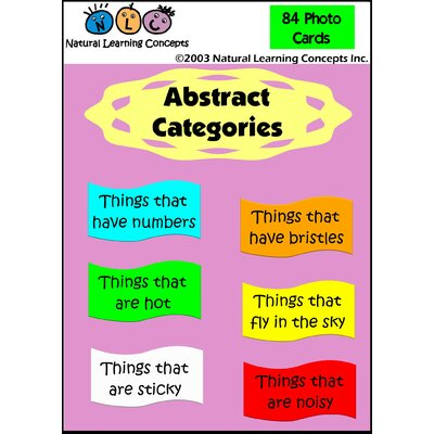 Natural Learning Concepts Abstract Categories Wayfair
