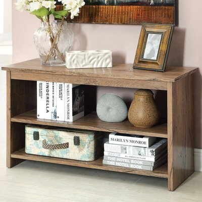 Waldon Open Shelf Console Table