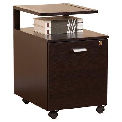 Hokku Designs 1-Drawer Modern Equipment Trolley/File Cabinet