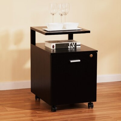 Hokku Designs Newton Modern Equipment Trolley / File Cabinet