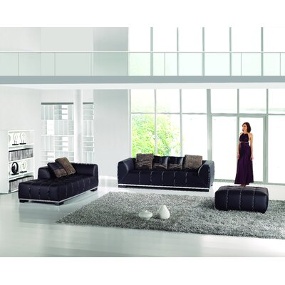 Hokku Designs Neice Sofa with Ottoman
