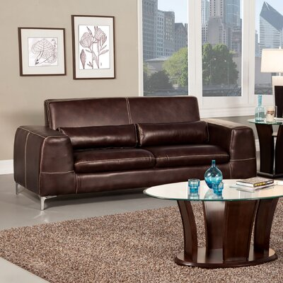 Gordon Leatherette Sofa