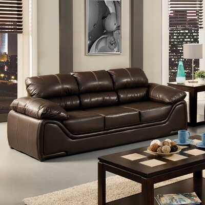 Velasco Leatherette Sofa