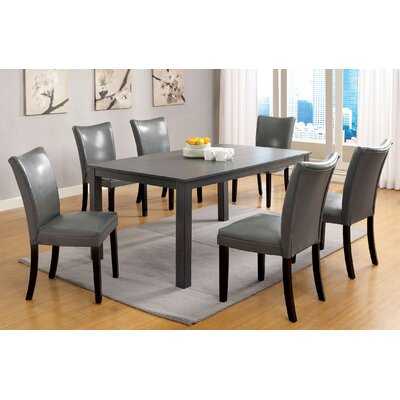 Hokku Designs Contemporary 7 Piece Dining Set