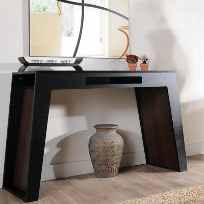 Enitial Lab Gray Bova Console Table | Wayfair