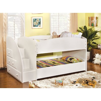 ... by Ashley Elsa Twin Loft Bed with Optional Trundle Bed and Storage