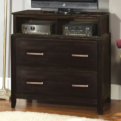Enitial Lab Cadbury 2 Drawer Media Chest