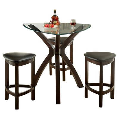 Hokku Designs 4 Piece Counter Height Dining Set