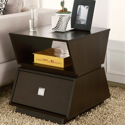 Enitial Lab Lertzel End Table