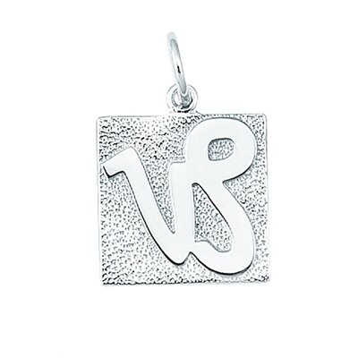 EZ Charms 2 Grams Sterling Silver Capricorn Charm