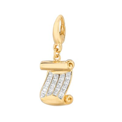 EZ Charms Diamond Diploma Charm