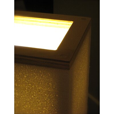 Shiner International Square 1 Light Table Lamp