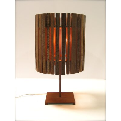 """Shiner International Drop 29.5"""" H Table Lamp with Drum Shade"""
