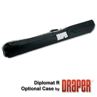 "Draper Matte White Diplomat / R Portable Screen - 50"" x 50"" diagonal AV Format"