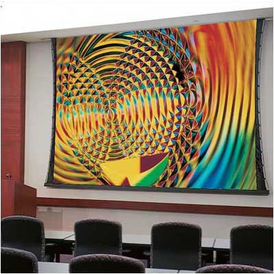 "Draper Access Series V Grey 119"" Electric Projection Screen with Low Voltage Motor"