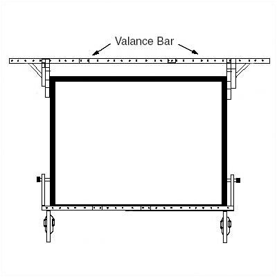 Draper Valance Bar for Dress Kit