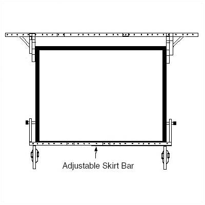 Draper Skirt Bar for Dress Kit