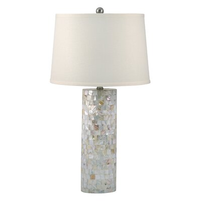 lamp works mother of pearl 28 h table lamp with empire shade. Black Bedroom Furniture Sets. Home Design Ideas