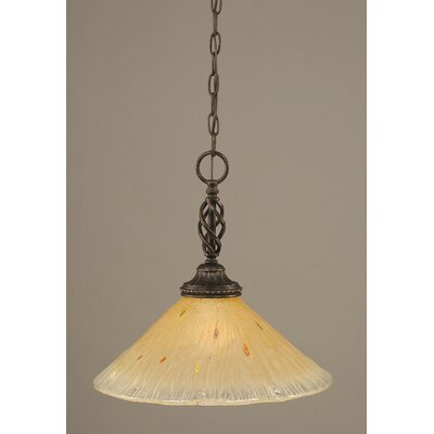 Toltec Lighting Eleganté 1 Light Pendant