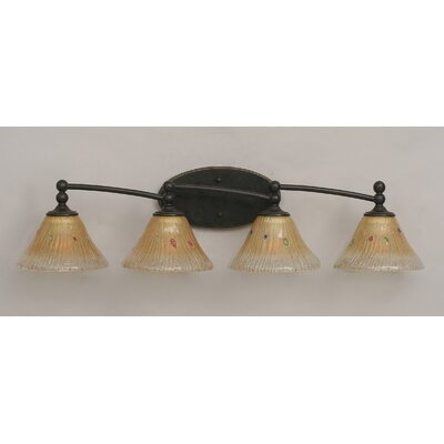 Toltec Lighting Capri 4 Light Bath Vanity Light