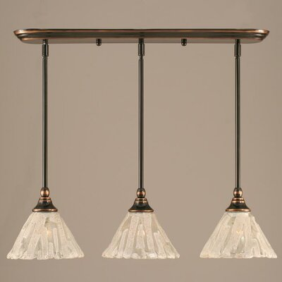 Toltec Lighting Any 3 Light Mini Pendant