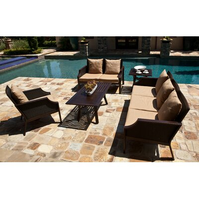 AIC Garden & Casual Hudson Deep Seating Love Seat