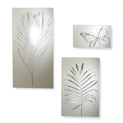 Umbra 3 Piece Garden Tiles Wall Décor