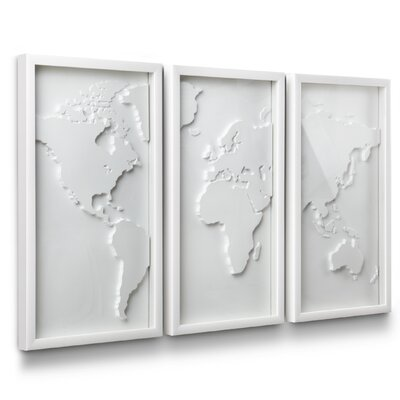 Umbra 3 Piece Mapster Wall Décor