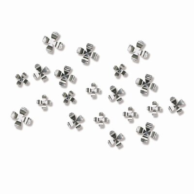 Umbra Wall Flower in Chrome (Set of 20)