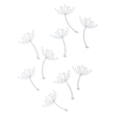 Umbra Pluff Wall Décor (Set of 9)
