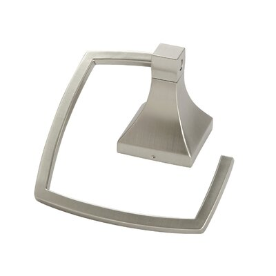 Umbra Zen Towel Ring in Nickel