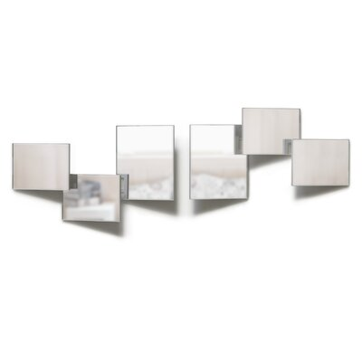 Umbra Vantage Mirror Wall Décor (Set of 6)