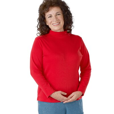 Women's Mock Turtleneck Shirt