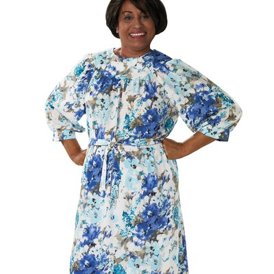 New Womens Plus Size Moo Moo Dress  Full Figure Caftan Dress  Float
