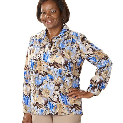 Silvert's Women's Handicap Clothing Adaptive Blouse