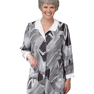 Silvert's Ladies Long Sleeve Shirt Dress