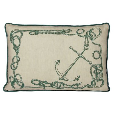 Kevin O'Brien Studio Knots South Pacific Decorative Pillow