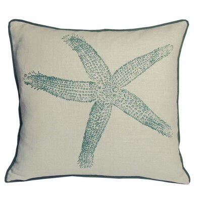 Kevin O'Brien Studio Starfish South Pacific Decorative Pillow