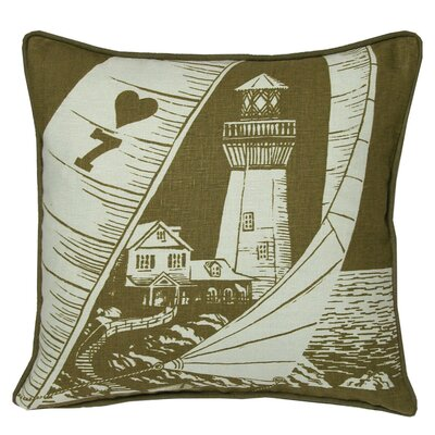 Kevin O'Brien Studio Lighthouse Decorative Pillow