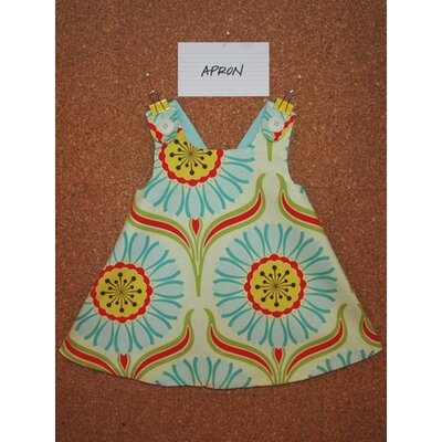 Jasper Hearts Wren Apron Dress in Pop Daisy