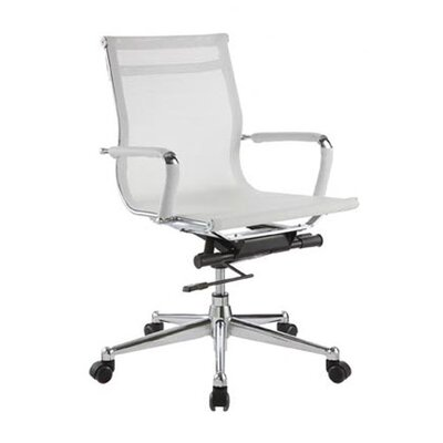 <strong>DMI Office Furniture</strong> Low-Back Pantera Metal and Nylon Office Chair
