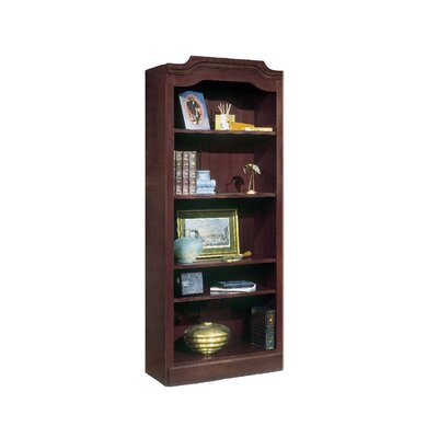 "DMI Office Furniture Governor's 74"" H 5 Shelf Bookcase"