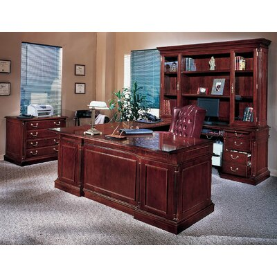 DMI Office Furniture Keswick Executive U-Shape Desk Office Suite
