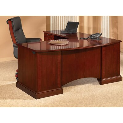 "DMI Office Furniture Belmont 72"" W L-Shape Executive Desk with Right Return"
