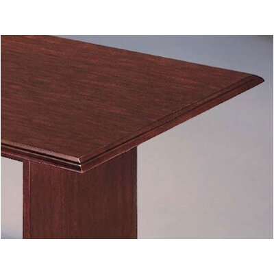 DMI Office Furniture Governor's 6' Rectangular Conference Table with Twin Slab End Bases