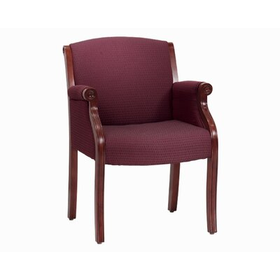 DMI Office Furniture Governor's Engraved Executive Guest Chair