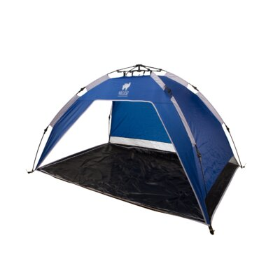 Grand Trunk Quick Set Sun Shelter in Blue/Sliver