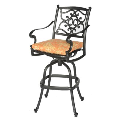Meadow Decor Kingston Barstool with Cushion