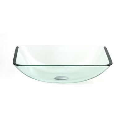 Dreamline Glass Sink Vessel Bathroom Sink